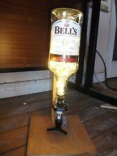 Bells Scotch Whisky 1.5 Litre Optic Bottle LED Lights Lamp