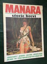 MILO MANARA  STORIE BREVI  TOTEM COMICS EDIZIONI NUOVA FRONTIERA VOLUME 1993