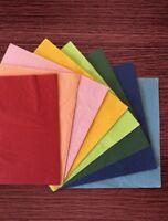 100-1000 Stück Servietten in Verschiedenen Farben 33x33cm - 1/4 Falz - 3 Lagig