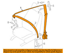 VOLVO OEM 12-16 S60 Front Seat-Belt & Retractor Left 39818842