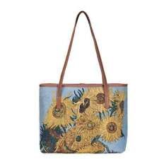 4b771e77f0 Signare Womens Tapestry Fashion College Shoulder Tote Bag Sunflowers