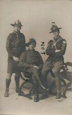 WW1 Boy Scout Australian Imperial Forces AIF Lowestoft photographer