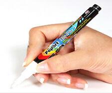 New Liquid Chalk Marker Pen Board White Sign (3mm) Wet Wipe Free Shippin