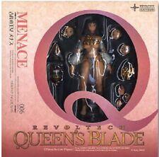 New Kaiyodo Revoltech Menace Revoltech Queen\'s Blade Series No.006 Painted