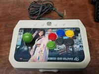 Dead Or Alive 4 Fighting Arcade Fight Joy Stick Controller Xbox 360 Six Button