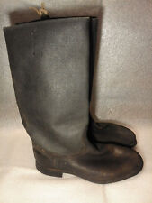 Soviet Russian Boots WW2 SOLE RARE  Military Soldier Leather Uniform USSR 44