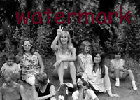 1969 PUBLICITY 5 X 7 PHOTO WAITING TO GET IN WOODSTOCK 50TH ANNIVERSARY AUG 16