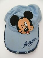Mickey Mouse Disney Blue Toddler Adjustable Ball Cap Hat