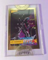 Wizard Press Promo Card Factory Sealed 1992 Jim Valentino's Shadow Hawk (GOLD)
