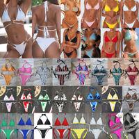 Sexy Women Crystal Bikini Set Push-Up Swimwear Swimsuit Bathing Suit Beachwear