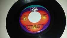 JOHNNY ADAMS I Can't Be All Bad / In A Moment Of SSS INTERNATIONAL 780 SOUL 45