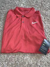 NWT Men's Nike Dry Victory MEDIUM Burgundy Golf Polo Shirt Dri-Fit MSRP $55