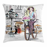 Fashion Throw Pillow Cases Cushion Covers Ambesonne Home Decor 8 Sizes
