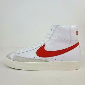 Nike Wmns Blazer Mid 77 White Red CZ1055-101 New Wmns Size 10 / Mens 8.5 No Lid