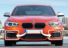 BMW SERIE NUOVO ORIGINALE M1 F20 F21 LCI GRIGLIE PARAURTI ANTERIORE CON GANCI DI Taglio Set