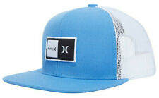 Hurley Kids' Boys' Youth Natural Trucker Hat Cap - Blue Furry
