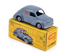 Renault 4CV PTT Fourgonnette - Grey 1:43  CIJ DIECAST MODEL CAR