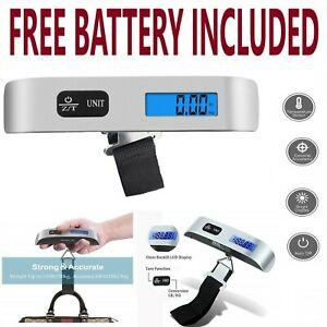 50kg  Weight luggage Scale  LCD Display Portable Electronic Travel Hanging