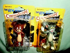 2005 CINEMA SCOPE CARTOONS TOM & JERRY X One X Archive BRAND NEW FIGURES RARE