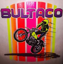 Huge 1973 Bultaco Fmx Motocross Jawa Ossa Cz Ktm Motorcycle vTg t-shirt iron-on