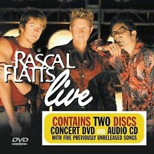 Rascal Flatts Live (DVD & Audio CD) by