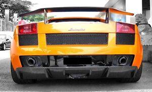 Lamborghini Gallardo 1st Gen Carbon Fiber Rear Bumper Diffusor 2004 to 2007
