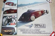 """2012 """"Rad Rides By Troy"""" '34 Mariani Roadster SEMA Bonneville Land Speed poster"""