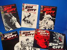 Comics SIN CITY Moriria por ella  y un especial-total 7 numeros buen estado