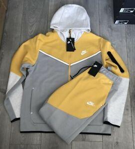Nike Tech Fleece Men's Tracksuit Size M-L (CU4489 077/CU4495 077)