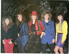 Wild Rose REPRINT autographed photo Wanda Vick Nancy Given Kathy Mac Pam Perry
