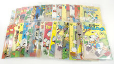 Lot of 33 Assorted Gladstone Donald Duck Comic Books Vintage 1960's