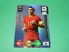 SIMÃO PORTUGAL  PANINI FOOTBALL FIFA WORLD CUP 2010 CARD ADRENALYN XL