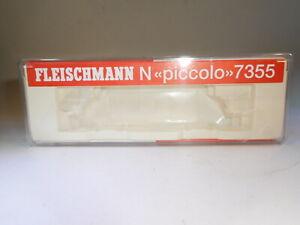 ++ Spur N Fleischmann 7355 Leerbox Leerschachtel Leerkarton Ellok 101 005-7 rot