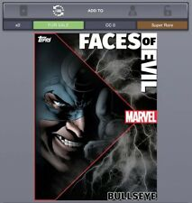 Topps Marvel Collect - Faces Of Evil BULLSEYE (Motion/Static) *Digital