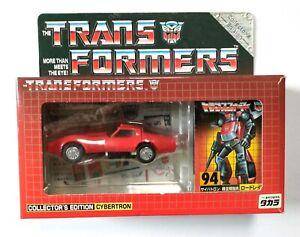 Transformers G1 Road Rage #94 Takara E-Hobby Exclusive 2003 MIB Diaclone Tracks