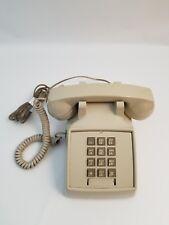 Vintage Stromberg Carlson Push Button Beige Telephone Phone