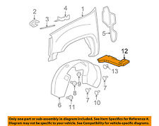 GM OEM Fender-Front Extension Bracket Right 25829131