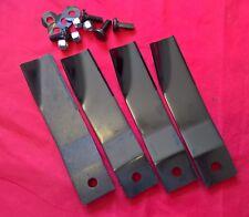 2 Sets Cox Lawn Mower Blades, 35 Inch Stockman 4500  & 42 Inch Lawn Boss 42 ZTR