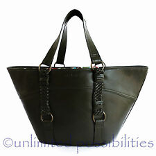 OLGA BERG Shoulder Bag Hand Bag Pet Bag New Olive BNWOT