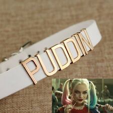 Harley Quinn Suicide Squad PUDDIN Choker Necklace Collar Cosplay Costume