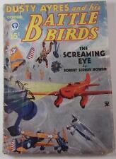 DUSTY AYRES AND HIS BATTLE BIRDS OCT 1934 SCREAMING EYE ROBERT SIDNEY BOWEN