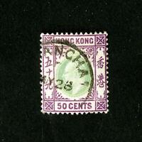 Hong Kong Stamps # 80 VF Used Catalog Value $62.50