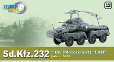 Dragon Armor 1/72 Scale WWII German 1939 Sd.Kfz.232 Motorisiert LAH Tank 60585
