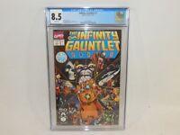 Infinity Gauntlet #1 Marvel Comics Thanos Jim Starlin July 1991 CGC 8.5 White