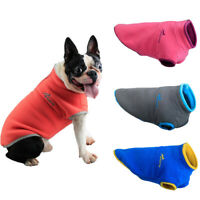 Soft Fleece Dog Coat Winter Dog Clothes Pet Puppy Jacket Dog Winter Outfit Vest