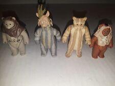 Vtg Star Wars Kenner Ewok Figure Lot Paploo Lugray Teebo Chirpa