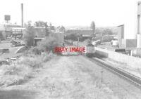 PHOTO  TRAIN NEAR WREXHAM CENTRAL  RAILWAY STATION