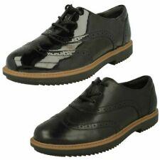 Ladies Clarks Raisie Hilde Lace Up Brogue Shoes