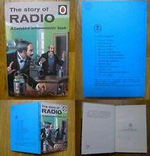 VINTAGE 1960s-OLD-LADYBIRD BOOK-THE STORY OF RADIO-2'6 MATT 1ST EDITION