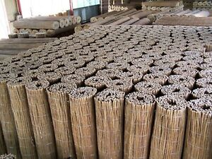 Willow Fence Screening Rolls -Large ( 150cm height 3m long )